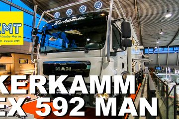 CMT 2019 - Kerkamm Weltreisemobile EX 592 MAN - 4x4 Passion #129