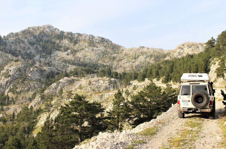 Von der Ägäis bis zur Adria_Teil 2 - Offroad in Montenegro