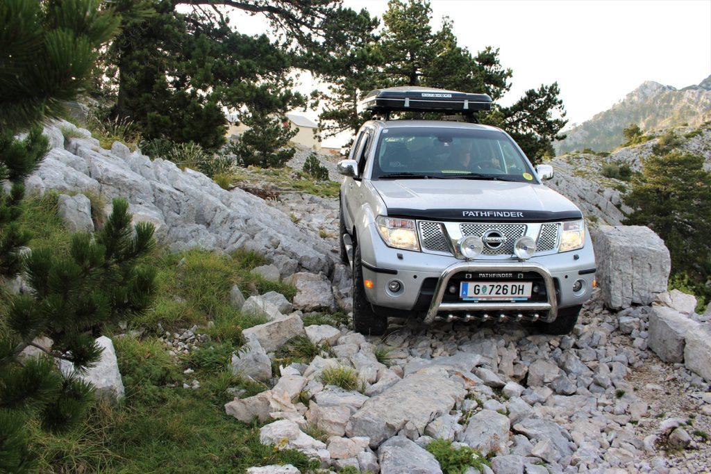 Geländefahrt in Montenegro
