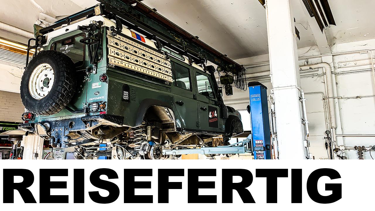 Reisevorbereitung Pamir für einen Land Rover Defender - 4x4 Passion #124