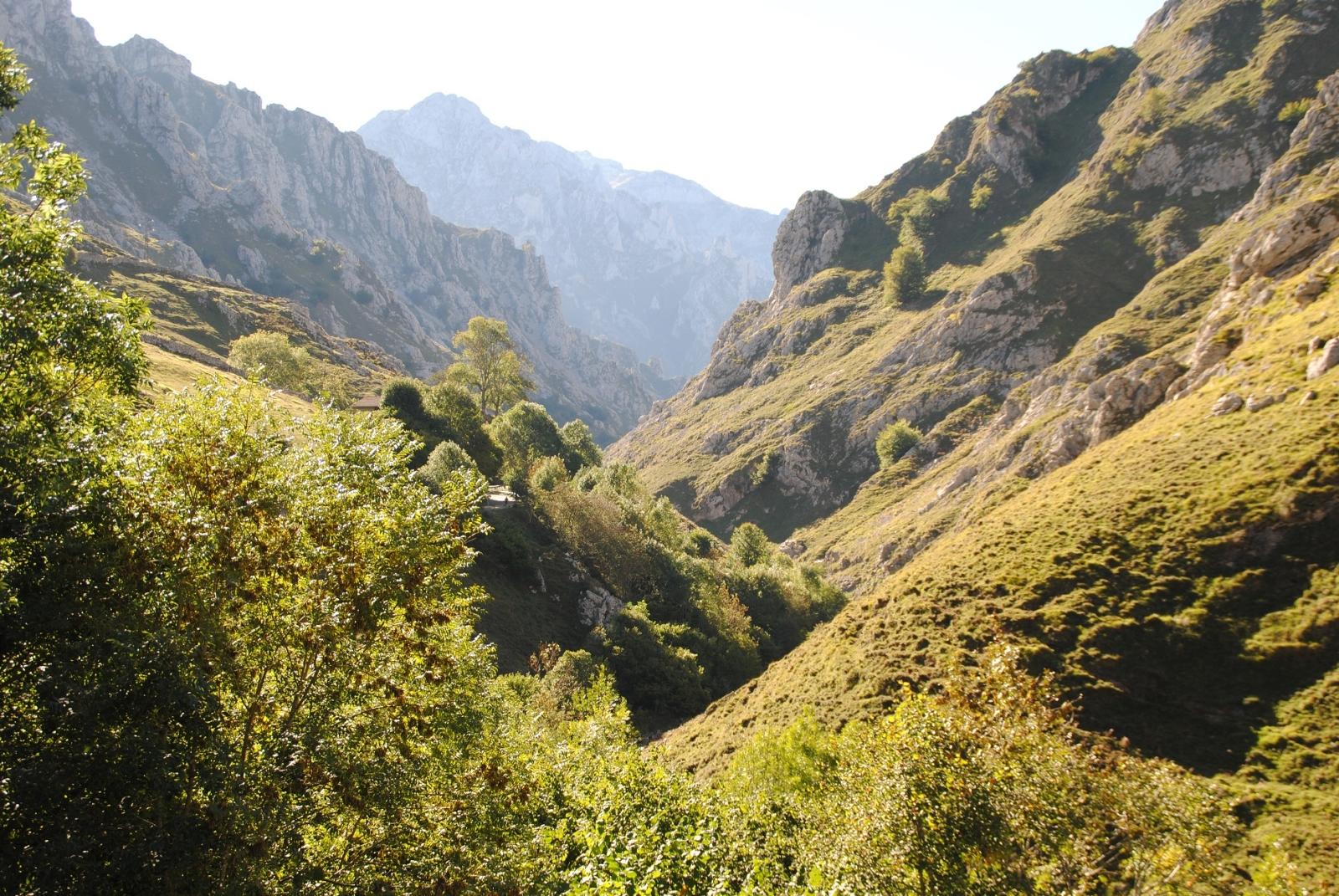 Endlich Berge! Aber die Picos sind auch für uns Neuland.