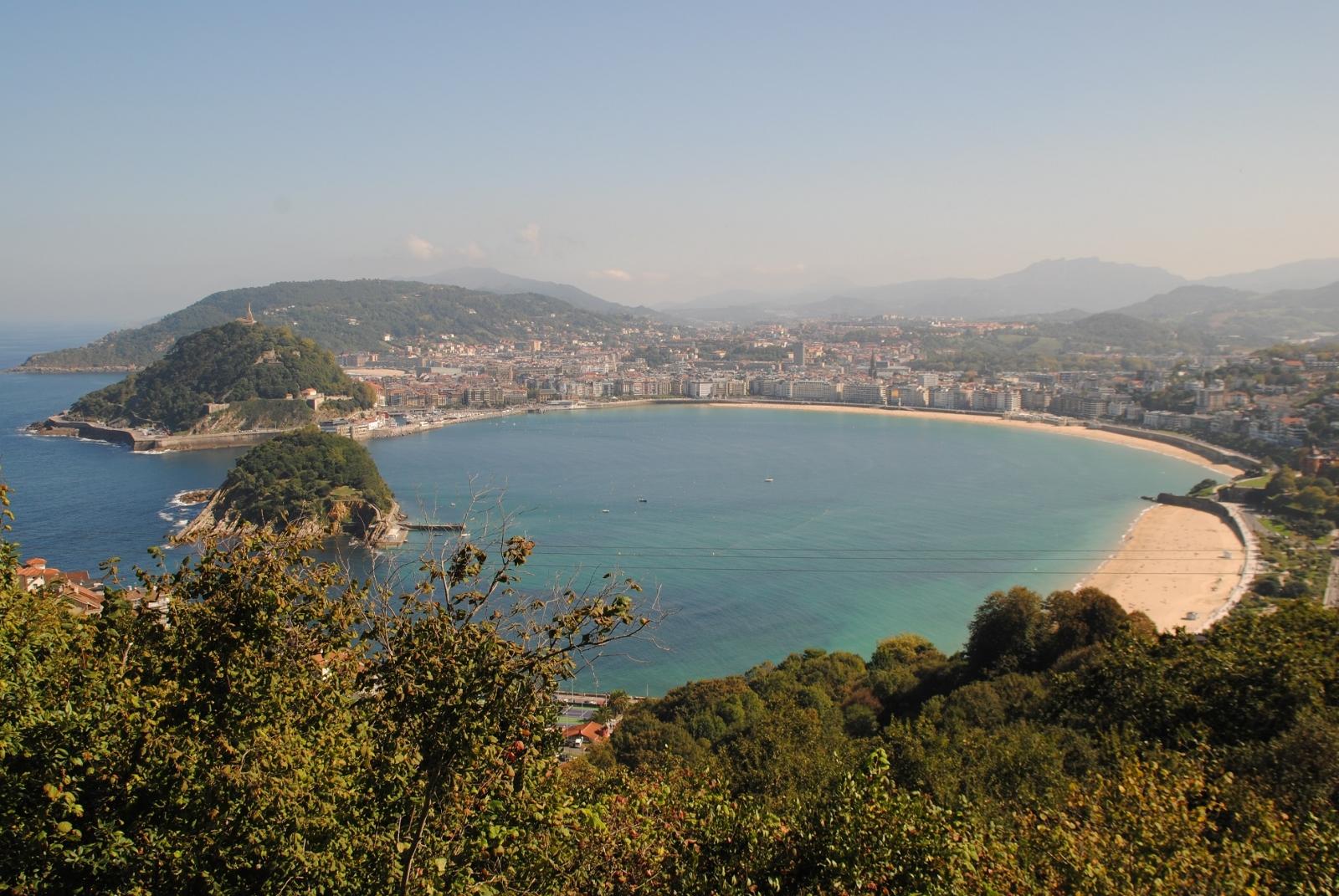 Voilá, San Sebastian, oder auch Donnastia. Ein wirklich eine wirklich schöne und interessante Stadt.