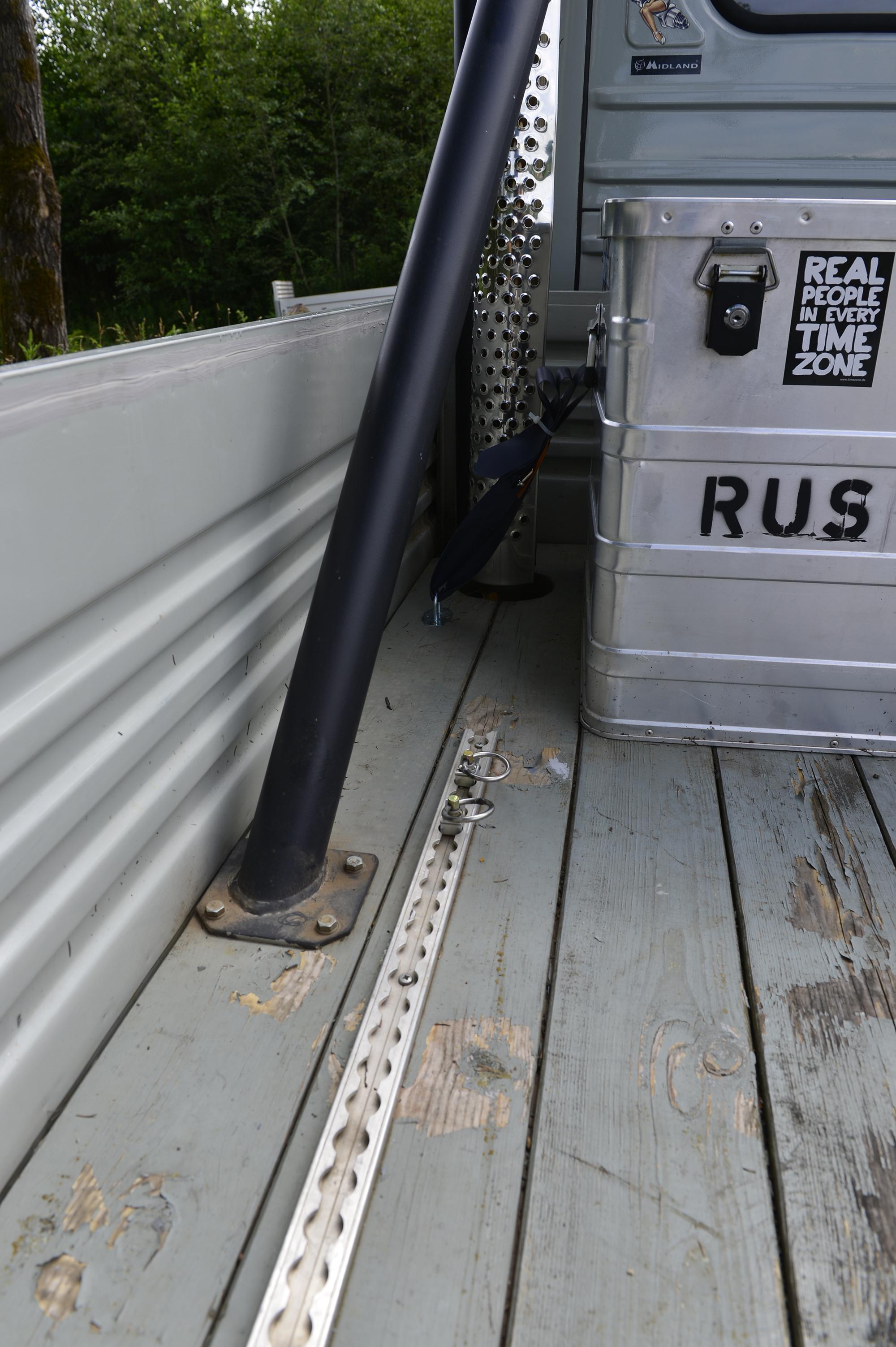 UAZ-Doppelkabiner Buchanka