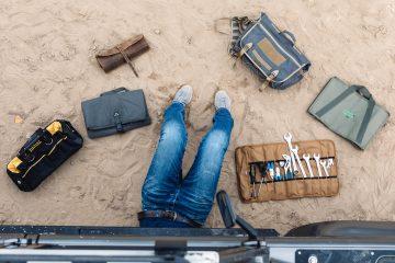Werkzeugtaschen für Offroader - Titel