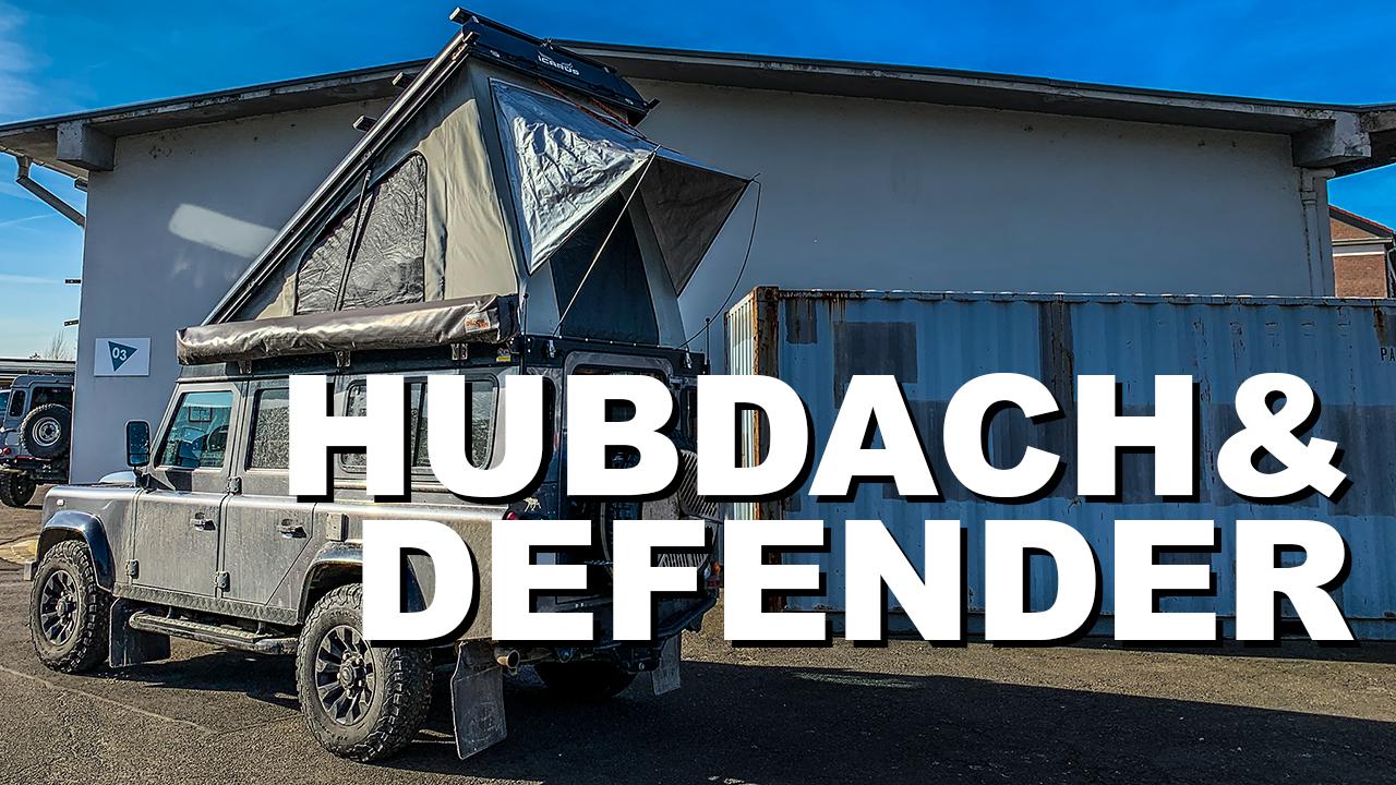 Land Rover Defender Td4 110 mit AluCab-Hubdach - 4x4 Passion # 141