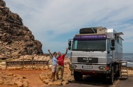 Transafrika-Touren mit Mantoco - Conny, Tommy und natürlich MANni.