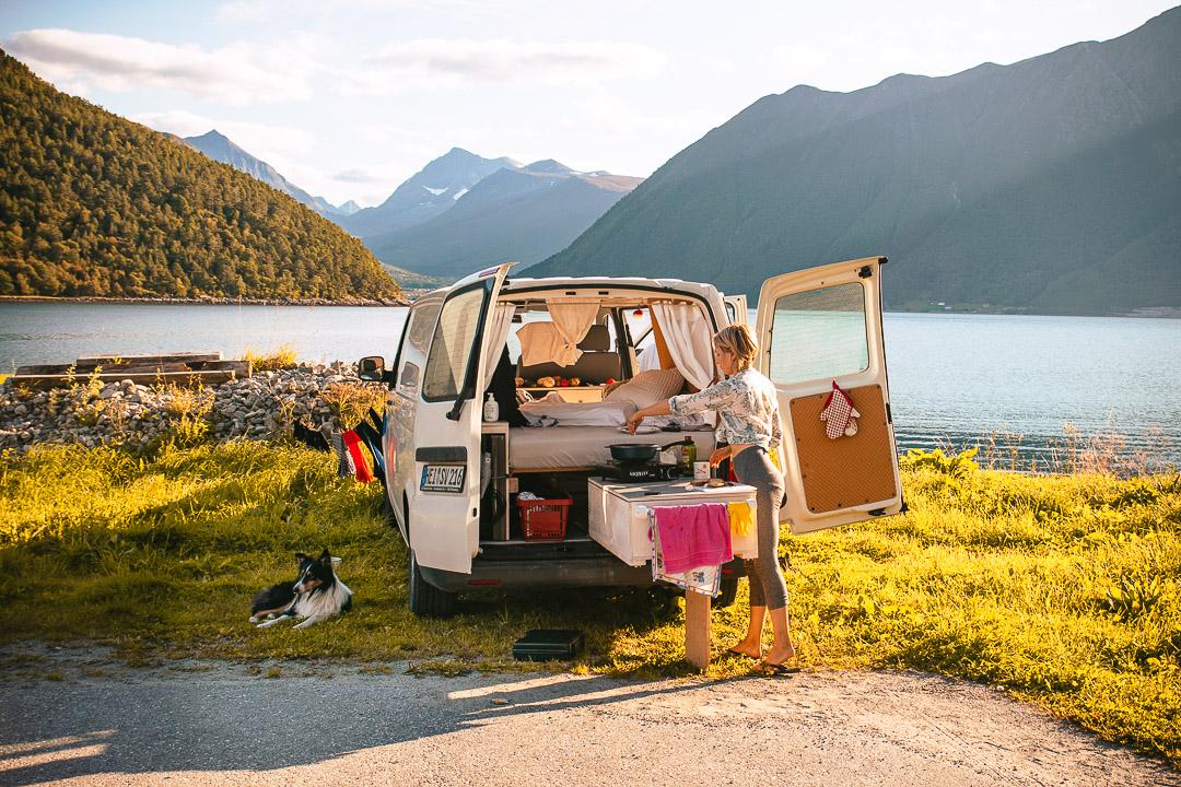 Vanilla Icedream - Das Reisefahrzeug: ein VW Bulli T5.