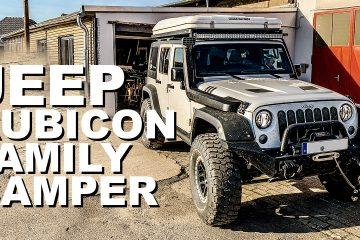 Jeep JK Unlimited Rubicon als Familiencamper mit Autohome Dachzelt - 4x4 Passion # 143