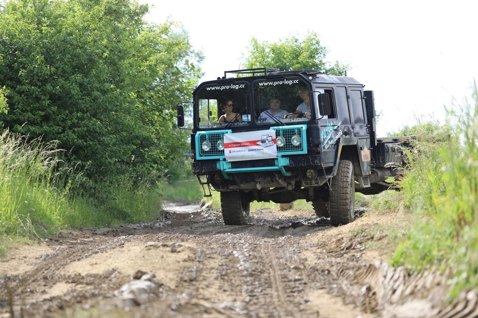 Abenteuer & Allrad 2019 - Aktiv dabei! Selberfahren mit dem Offroad-Truck.