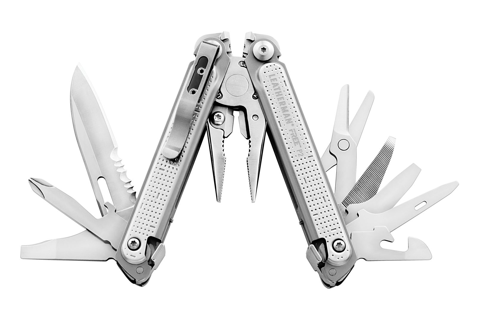 Leatherman FREE - P2 offen.