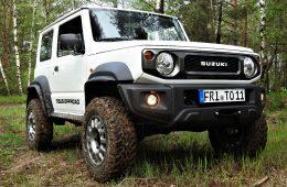 Tibus Offroad Portale für den Suzuki Jimny GJ.