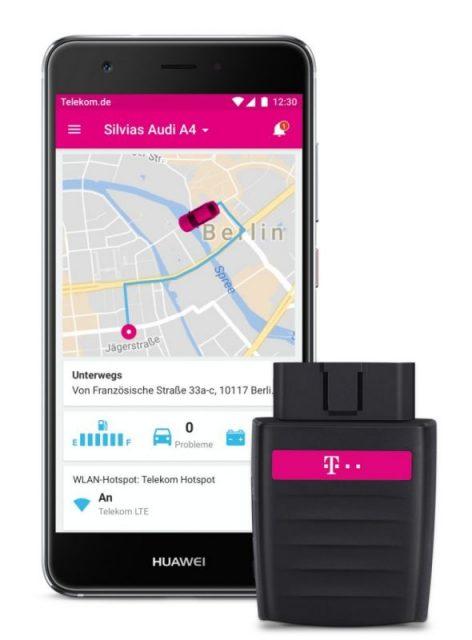 Internet auf Reisen - Telekom CarConnect Adapter © Foto: Telekom