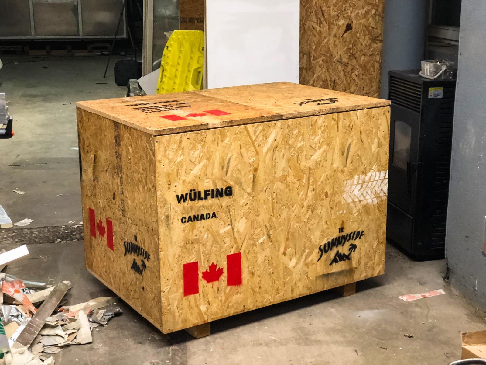 The Sunnyside - Fertig zum Versand. Teile für Willi, der in Vancouver wartet.