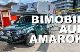 Bimobil-Kabine auf VW Amarok Roomtour I 4x4 Passion # 149