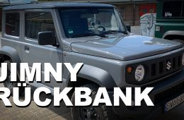 Suzuki Jimny Rückbank ausbauen - 4x4 Passion # 150