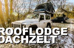 Dachzelt Roof Lodge von Nakatanenga auf Land Rover Defender 90 - 4x4 Passion #138