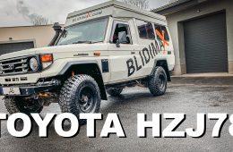 Toyota HZJ 78 von Blidimax als Reisemobil plus Roomtour - 4x4 Passion # 145