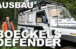 Land Rover Defender - Innenausbau und Camping-Konzept - 4x4 Passion # 153