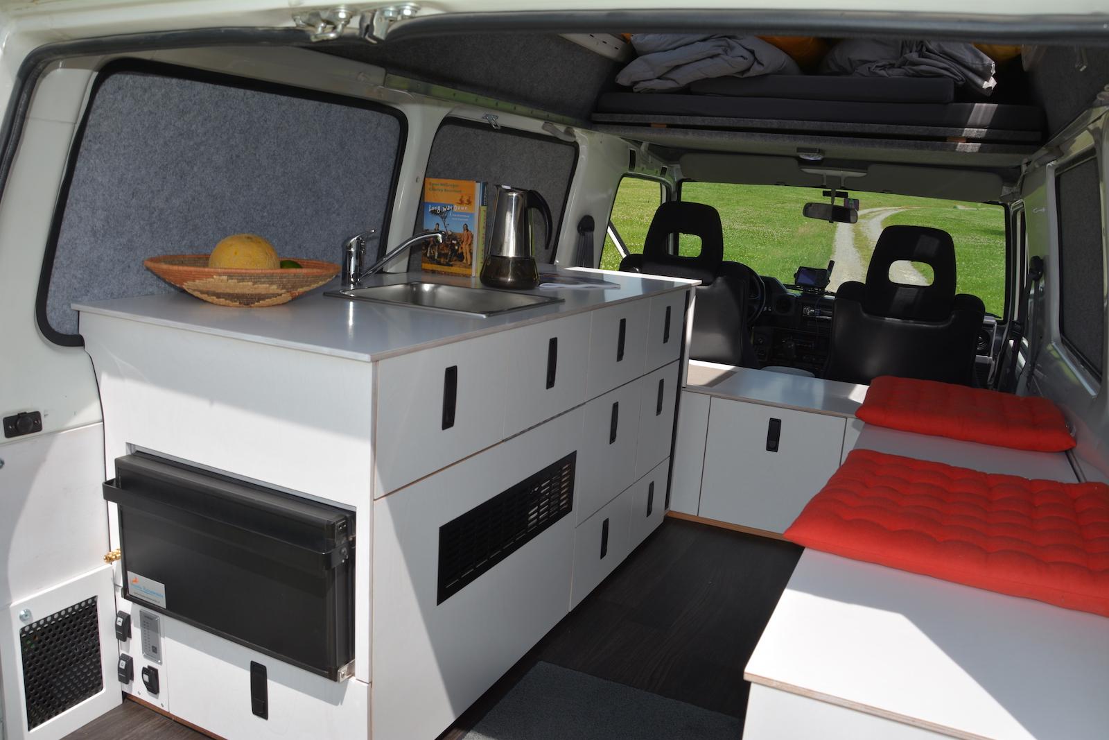 Impala Reisemobile individuelle Innenausbauten