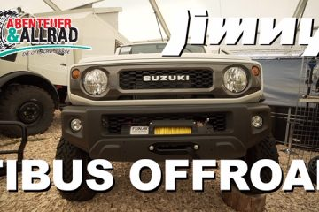 TIBUS Offroad Jimny Umbau - Messe Quicky - 4x4PASSION #159