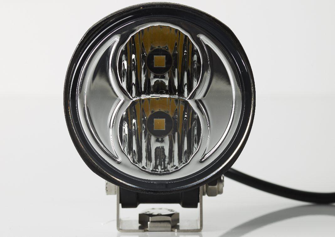 Offroad-Beleuchtung - NCC AR83 zur Nah- und Weitfeldausleuchtung.