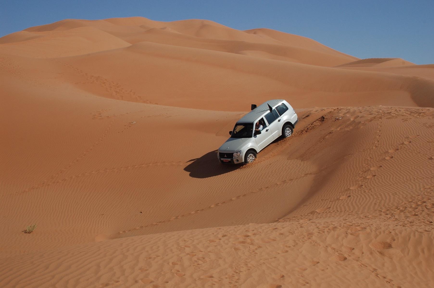 Oman - Die erste Abfahrt, Spaß und Suchtgefahr inklusive.