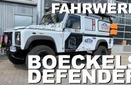 Land Rover Defender - Fahrwerk und Reifen - 4x4 Passion # 152
