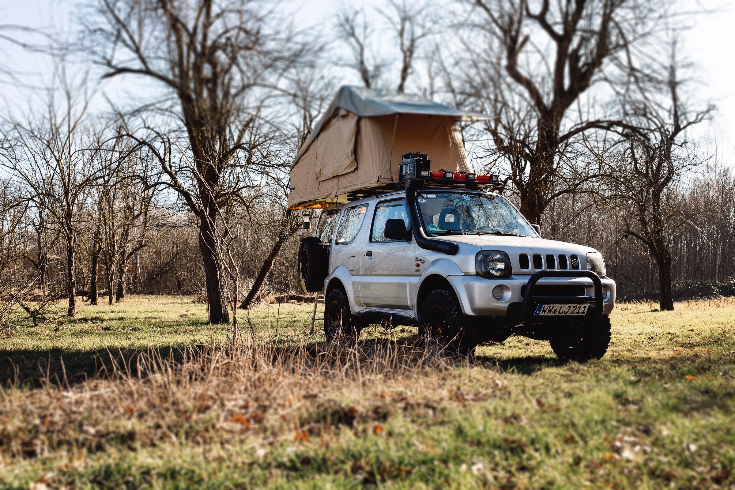 Suzuki Jimny Innenausbau