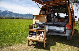Camping Gaskocher Titelbild.