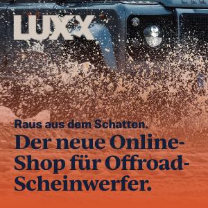 Scheinwerfer LUXX - der neu Shop für Offroad-Scheinwerfer