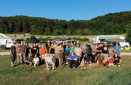 Gruppenbild Landyfriends Adventure Days LFAD 2019.
