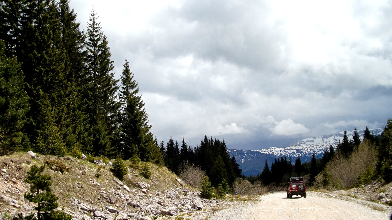 Five Mountains Tour - Abwechselnd On- und Offroad.