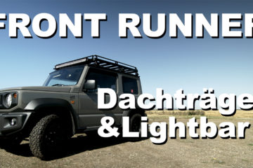 FRONT RUNNER Dachträger, Lightbar und Expeditionsreling auf den Jimny - 4x4PASSION #167