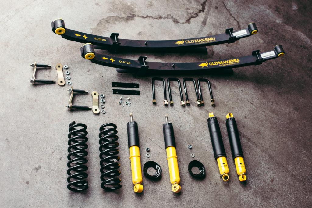 Geländewagentechnik - Fahrwerk - Verantwortlich für Sicherheit und Komfort.
