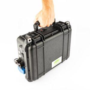 CamperCase - Mobil und leicht zu transportieren.