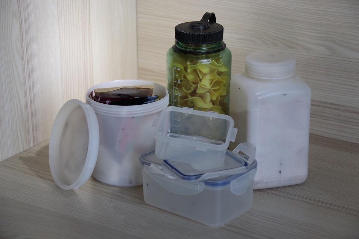 Nalgene-Weithals-Flaschen und Boxen von Lock&Lock