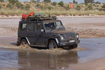Sinnvolles Werkzeug auf Reisen - Mercedes G - Mercedes G W 463 im Einsatz.