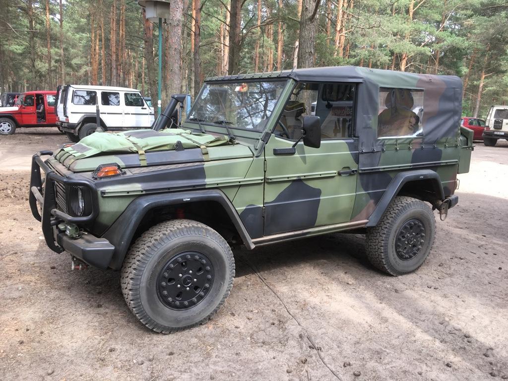 Sinnvolles Werkzeug auf Reisen - Mercedes G - Einer der Hauptnutzer war immer das Militär.