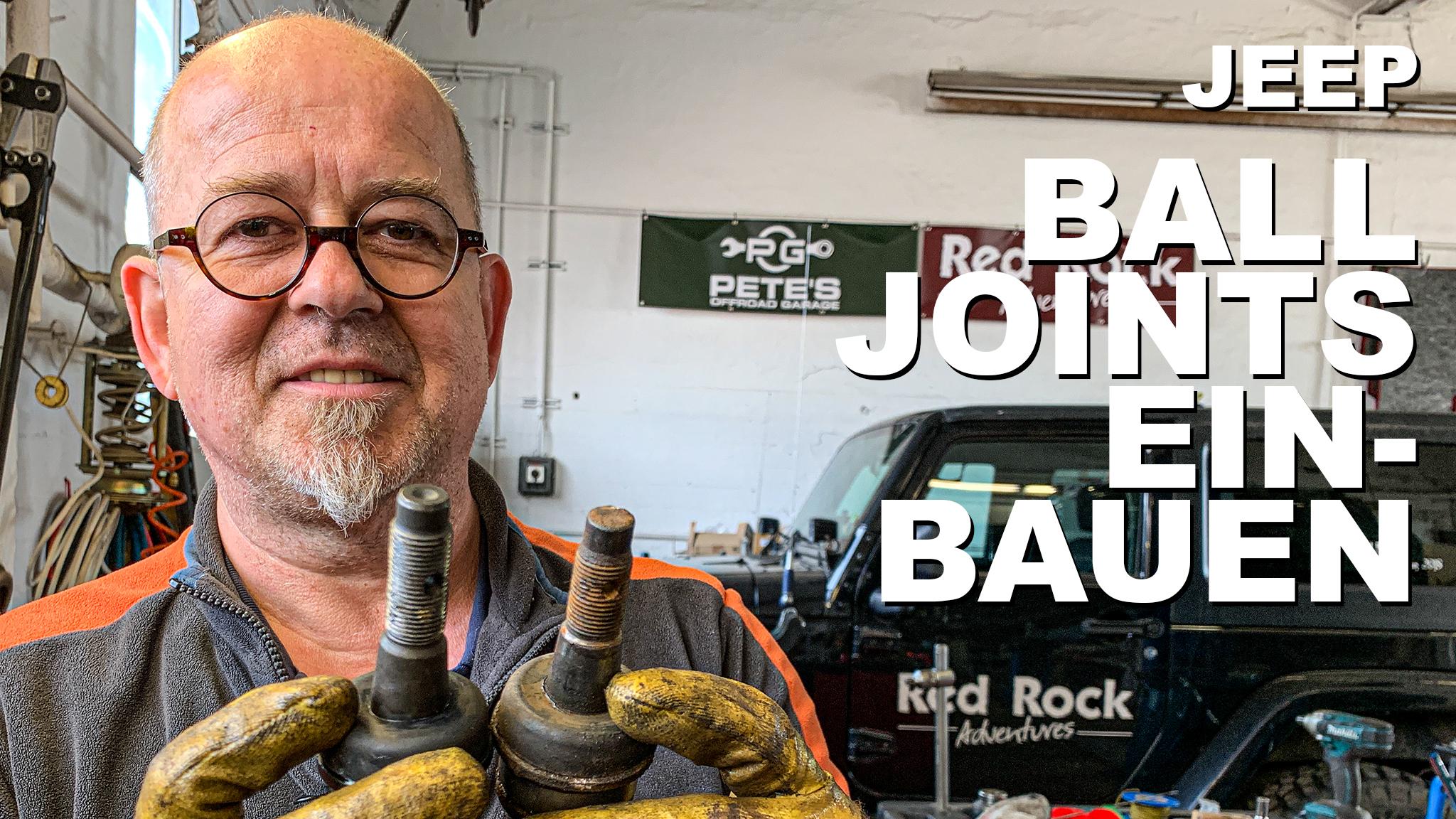 Jeep Ball Joints einbauen - 4x4PASSION #168