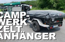 Campwerk Zeltanhänger - 4x4PASSION #173