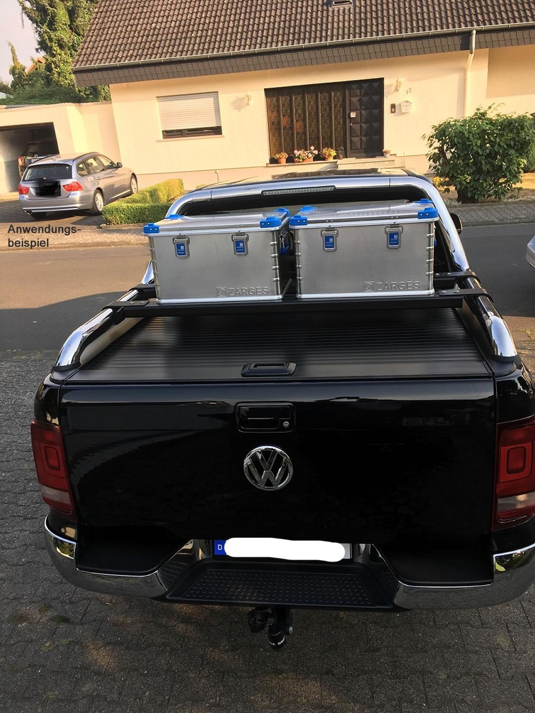 Nakatanenga - Zur Montage von Alu-Kisten geeignet.