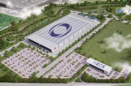 Das geplante Ineos Automotive Grenadier Werk in Wales.