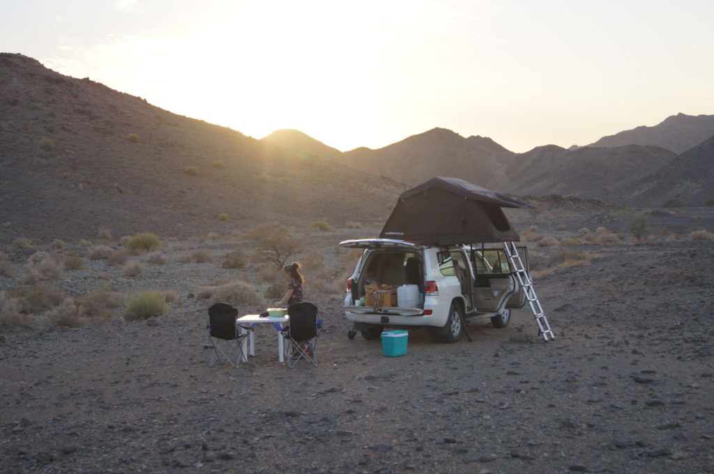 Camping wie im HImmel.
