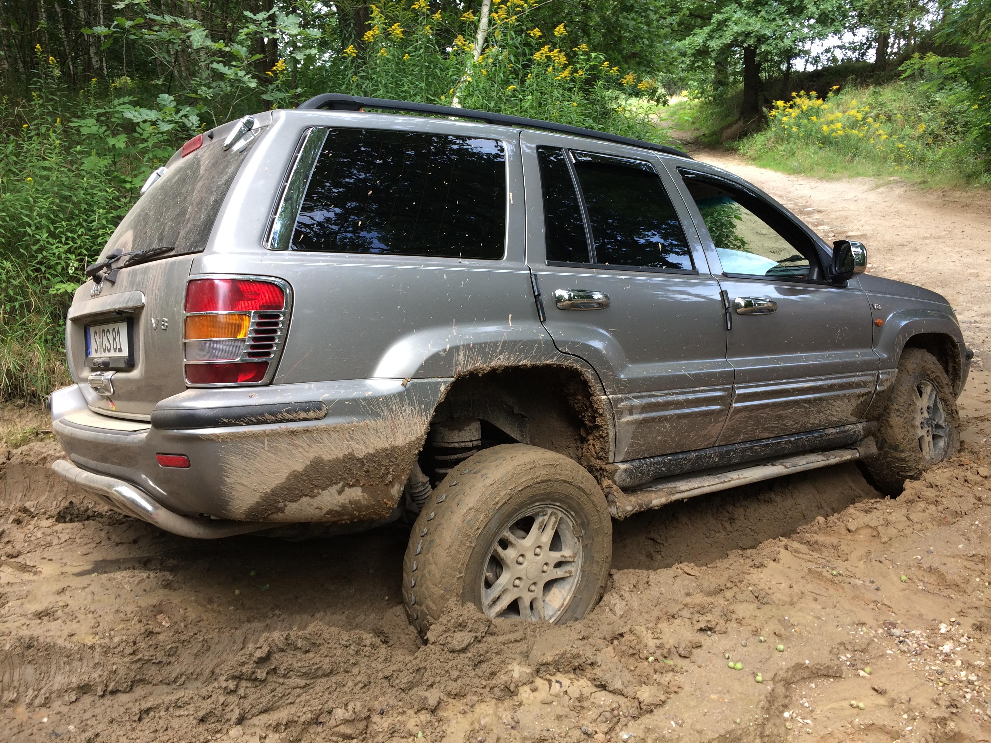 Jeep Grand Cherokee Geländewagen mieten