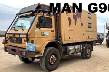 MAN G90 Roomtour - 4x4PASSION #178
