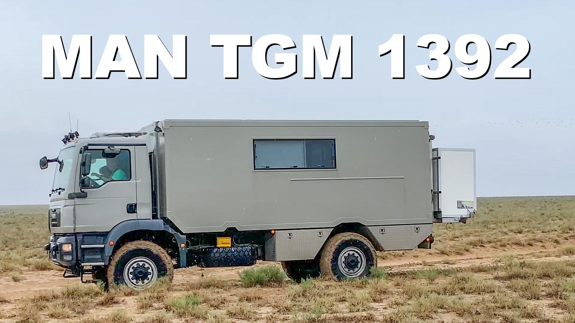 MAN TGM 1392 Roomtour - 4x4PASSION #184