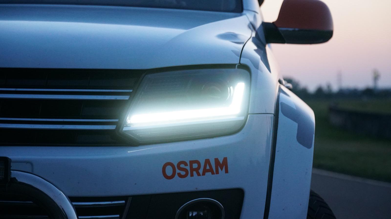 Osram LEDriving LED-Scheinwerfer für den VW Amarok