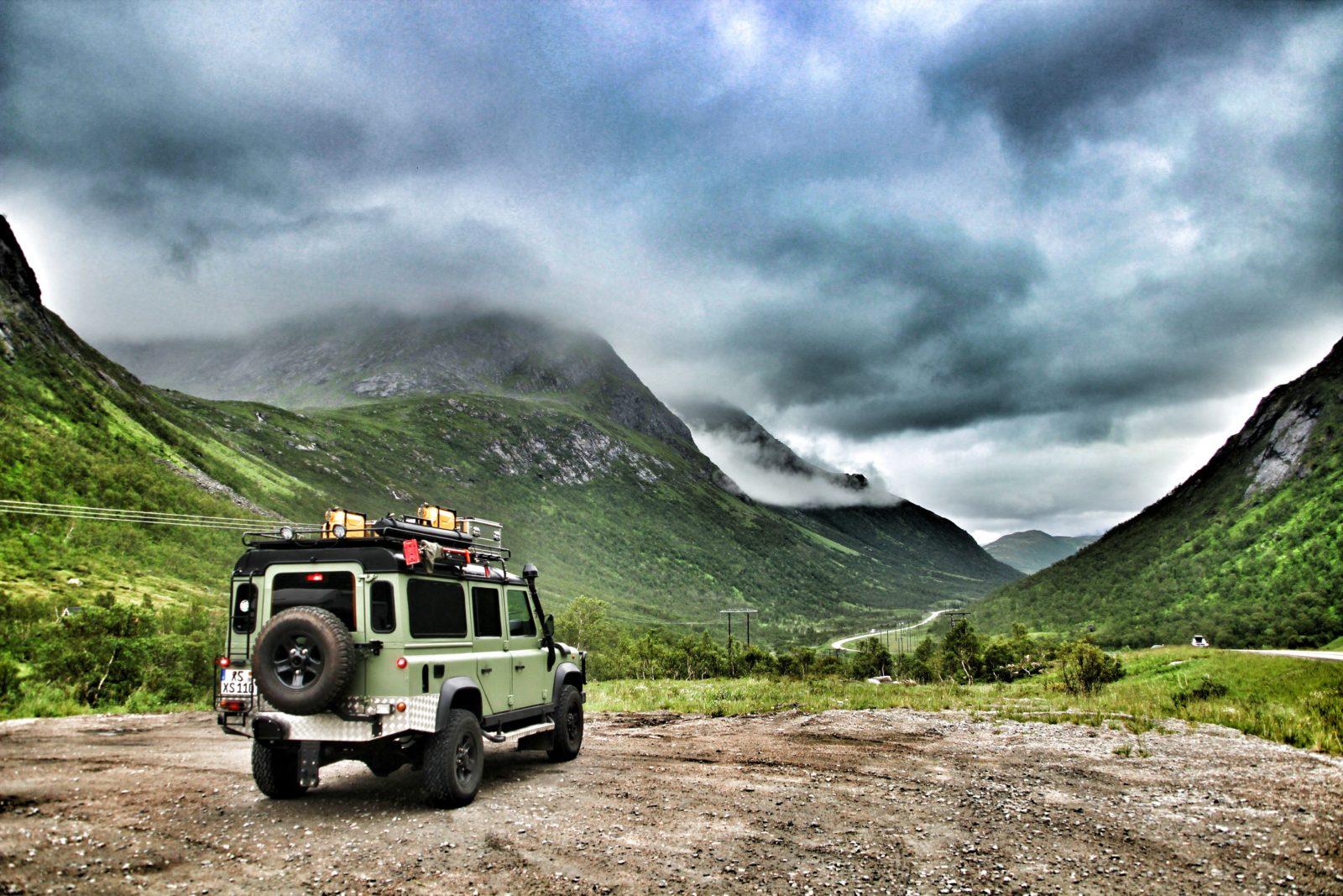 Fahrzegausbau Willibald - Ein herrlicher Platz in Norwegen.