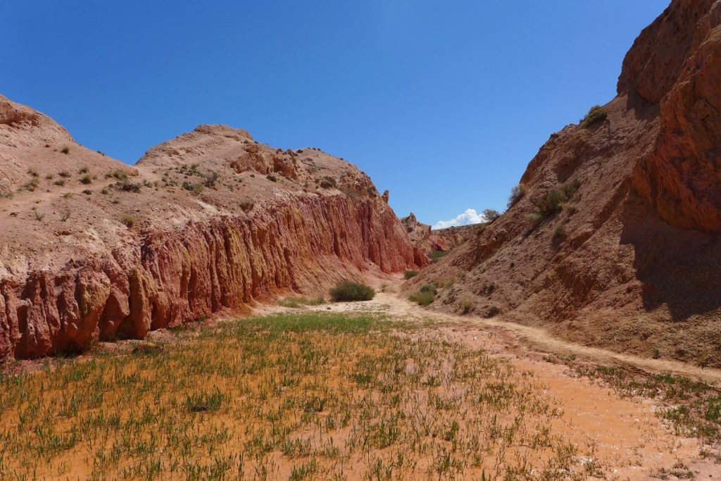 Kirgisien - Im Skazka-Canyon.