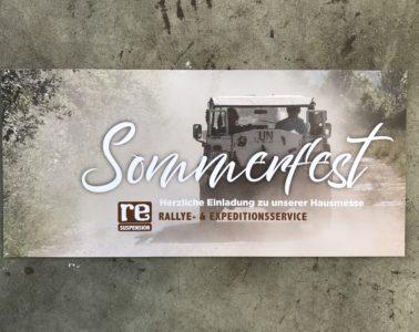 RE-SUSPENSION Sommerfest und Hausmesse